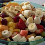 Bulgarian Salad Fresh Fruit Dessert