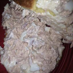 American Tuna Salad Sandwiches Appetizer