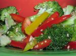 American Sesame Honey Marinated Broccoli Appetizer