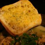 American Cheddar and Scallion Bread Appetizer