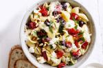 American Ricotta And Olive Pasta Recipe Appetizer