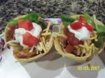 Mexican Fiesta Chicken Taco Cups Dinner