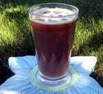 American Iced Ginger Coffee Drink