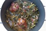American Collard Greens with Ham and Smoked Hock Appetizer