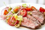 American Flank Steak with Bloody Mary Tomato Salad Recipe Dinner