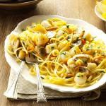 American Scallops with Linguine Dinner