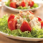 Canadian Heart Healthy Chicken Salad Stuffed Tomatoes Appetizer