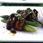 American Asparagus Rolls with Beef and Veal Appetizer