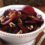 American Balsamic Beet with Roasted Pecan Nuts BBQ Grill