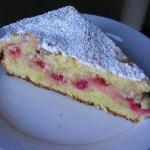 Armenian Yoghurt Cake with Berries Dessert