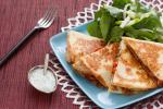 American Twocheese Chicken Quesadillas Appetizer