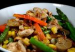 Thai Chicken  Cashew Stirfry Appetizer