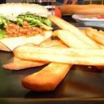 American Pulled Pork Burgers burgers to Pork Frayed Appetizer