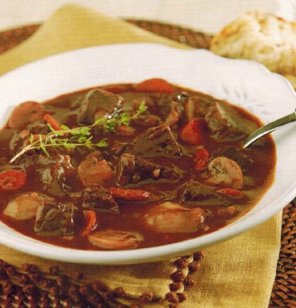 French Beef Bourguignon 2 Soup