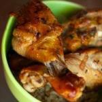 Russian Simple Recipe Gentle Chicken Cooked in the Oven Stunning Bread Flavor That Attaches to the Beer Dinner