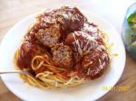 American t W A Meatballs for Spaghetti Dinner