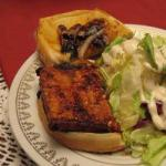 Chinese Steaks of Tofu to Barbecue Appetizer