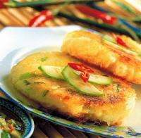 Thai Thai Potato Crab Cakes Appetizer