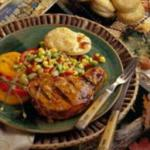 Canadian Maple-mustard Glazed Pork Chops 1 BBQ Grill