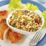 British Hearty Mushroom Barley Pilaf Appetizer