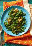 Canadian English Peas With Grilled Little Gems Green Garlic and Mint Recipe Dinner