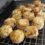 American Simple Homemade Scones Breakfast