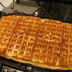Russian Waffles with Cottage Cheese Dessert
