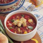 American Stuffed Roast Pepper Soup 1 Appetizer
