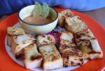 French Panfried Tofu with Spicy Peanut Sauce Soup