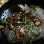 Japanese Noodles With Mushrooms Appetizer