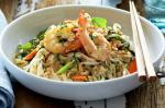 Vietnamese Vietnamesestyle Rice Noodles With Prawns Recipe Appetizer