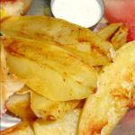 French Oven Baked French Fries Dessert