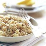 British Pilaf of Rice with Nuts Dinner