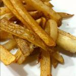 French Thin and Crispy French Fries Appetizer