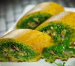 Swiss Vegetable Roll Up Appetizer