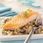 Australian Salmon with Herb and Cirtus Orzo Appetizer