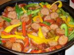 Polish Sausage and Bell Peppers Appetizer