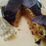 American Parrozzo chocolate Covered Cake Without Sugar Dessert