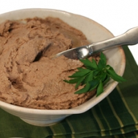 French Pastured Chicken Liver Pate Appetizer