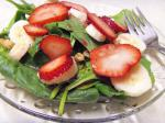 American A Different Spinach Salad Dessert