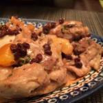 Indian Thighs of Chicken and Dried Apricots and the Tamarin Dinner
