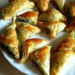 American Dough Pockets with Spinach and Feta Appetizer