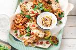 Australian Barbecued Seafood Platter With Smoked Paprika And Lime Aioli Recipe Appetizer