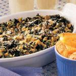 Australian Spinach Bake with Sausage Appetizer