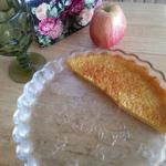 American No-crust Egg Custard Pie Dessert