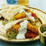 Australian Pita Bread with Falafel Appetizer
