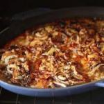 Russian Russian Beef Dish with Cheese Appetizer