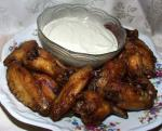 American Hot Buffalo Wings With Roquefort Dip Other