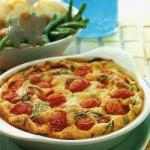 French Clafoutis with Eating and Pecorino Appetizer