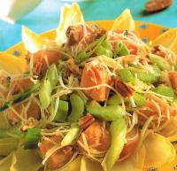 American Sweet Potato and Nut Salad Appetizer